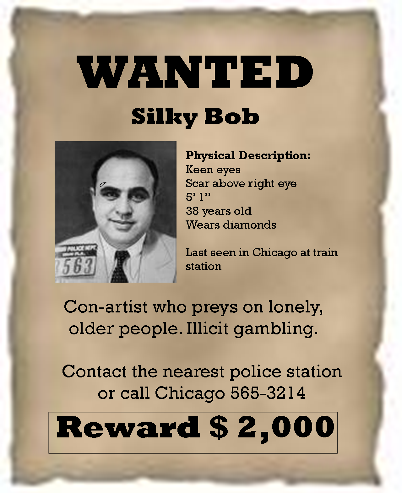 Examples Of Wanted Posters Wanted Poster TemplateEnormous – Real Wanted Poster